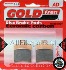 Honda QA 50 Front Sintered Brake Pads 2000 Onwards - Goldfren - QA50 QA-50