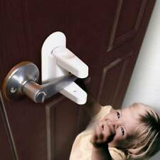 Child Kid Baby Indoor Safety Door Lever Lock Doors Handle Self-Defense Protector