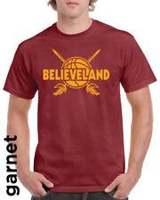 Cleveland Cavaliers ~ LeBron James style T-Shirt ~ Believeland