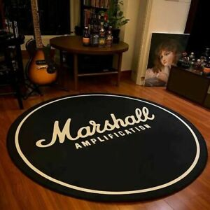 Tapis de sol Marshall Ampli antidérapant pour décoration maison biker rock moto