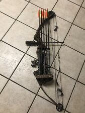Parker Eagle Compound Bow Rh 60# Draw w New Quiver And Arrows 310fps