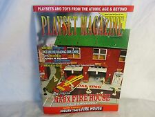 Playset Magazine issue#92-Marx Firehouse playset + other vintage firemen toys
