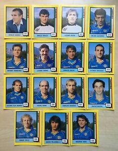 15 FIGURINE CALCIATORI VALLARDI 1989-90 IL GRANDE CALCIO 90 VERONA