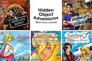 Game Factory Puzzle Solving Detective Adventures PC Windows XP Vista 7 8 10