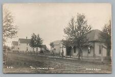 Oil Springs Ontario RPPC Lambton County—Rare Antique Photo Postcard 1910s