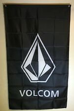 Volcom Logo Skate Swimwear Snowboarding  3x5 Flag Banner Wall Decor Surf Surfing