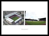 West Ham United Upton Park Stadium & Aerial View Photo Memorabilia (WHMU1)