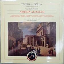 "MENOTTI'S ""AMELIA AL BALLO""~CAROSIO/PANERAI/SANZOGNO~EMI ITALY~VINYL LP SEALED"