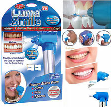 New Dental Luma Smile Teeth Whitening & Polish Machine With 5 Polishing Cups