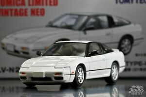 [TOMICA LIMITED VINTAGE NEO LV-N235b 1/64] NISSAN 180SX TYPE2 1991 (White)