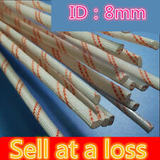 0.9M YL447-C 8MM Diameter High Temperature Sleeve Power Cord Bushing Wire Casing