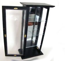 Midwest of Cannon Falls Wood and Glass Table Top Display Cabinet