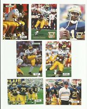 1992 Gridiron Michigan Wolverines Football 7-Card Team Set - 4 Howards! REDUCED!