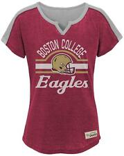 "OuterStuff NCAA Boston College Eagles Girls 7-16 ""Tribute"" Football Tee, Large"