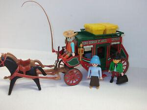 Playmobil Western Kutsche rote Postkutsche für Cowboy Figuren Zubehör