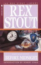 Before Midnight (Nero Wolfe) by Stout, Rex