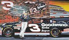 Dale Earnhardt poster lithograph Sam Bass poster 1996 MNT Ready To Rumble