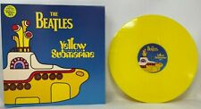 "THE BEATLES YELLOW SUBMARINE 12"" Vinyl Record  YELLOW VINYL UK Pressing Mint"