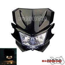 Universal Motorcycle Headlight Headlamp Dual Sport For Street Fighter Dirtbike