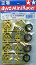Tamiya 4WD Mini Racer Super X Chassis Large Dia. One Way Wheel Set #15246