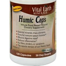 Vital Earth Minerals Humic Digestion Relief Capsules - 120 Count