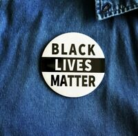 Black Lives Matter Pin Pinback Button 3""