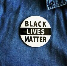 "Black Lives Matter Pin Pinback Button 3"""
