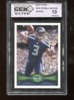 Russell Wilson RC 2012 Topps #165 Seattle Seahawks Rookie GEM Elite 10 Pristine