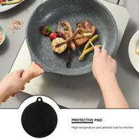 Silicone Induction Cooker Mat Round Heat Insulated Pad Induction Cooktops ONY