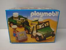 Playmobil ancien état neuf en boite scellée - jeep verte safari ref 3532