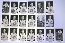 1964-65 Quebec Aces Team Set 19 Photos