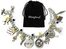 Broadway Musical Hamilton Jewelry Merchandise Charm Bracelet Rise Up Friendship