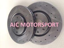 Peugeot 206 RC 177 disques freins sport brake discs avant front