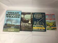 4x Train & Railway Books Paddington To The West Great British Trains Main Lines