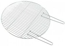 BBQ Grill Fire Bowl Circular Steel Barbeque Grill with Handles for Fire Pit,