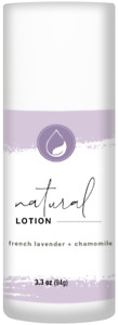 Natural Lotion, French Lavender + Chamomile by Yoder Naturals