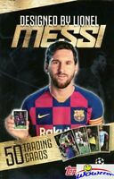 Topps LIONEL MESSI Designed 50 Card Champions League Box Set-Mbappe, Pulisic+++
