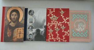 1990-2010 Folio Society x4 volumes illustrated slip cases