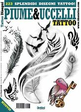 Birds and Feathers Tattoo Flash Book