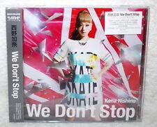 Japan Kana Nishino We Don't Stop 2014 Taiwan Ltd CD+DVD+postcard