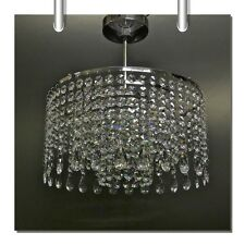 Crystal Glass Chandelier chandlier Chandalier Light Fitting Chrome MO30CL/Alm