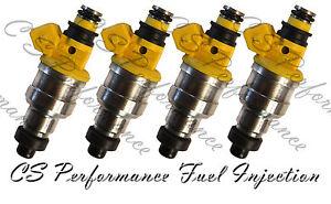 OEM Nikki Fuel Injectors (4) for 1988-1990 Dodge Colt 1.5L I4 88 89 90 1989 1.5