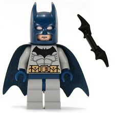LEGO 2007 THE DARK KNIGHT BLUE BATMAN Minifig Minifigure Figure 7787 7786