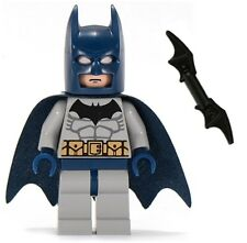 LEGO 2007 THE DARK KNIGHT BLUE BATMAN Minifig Minifigure Figure 7787 7786