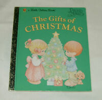 Little Golden Book Precious Moments THE GIFTS OF CHRISTMAS by Matt Mitter 1st Ed