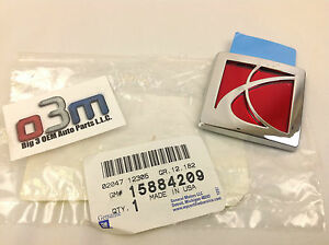 2007 - 2010 Saturn Sky Rear Trunk Lid or Interior Storage Console Emblem new OEM