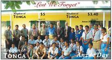 Tonga Anzac Day --- Scouting Stamp IMPERFORATE Souvenir Sheet