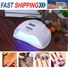 54W Sunx Led Uv Nail Lamp Light Gel Polish Cure Nail Dryer Uv Lamp Machine G2A9