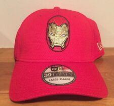 New Era Cap Hat Captain America Iron Man Civil War Marvel 39thirty Flex Fit L/XL
