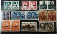 Postage stamps of South West Africa 1941-1943.